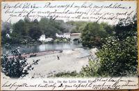 1907 Postcard: Little Miami River - Cincinnati, Ohio OH
