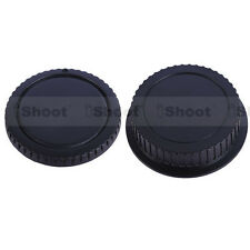 New Type EF EF-S Rear Lens Cap+Camera Body Cover f Canon EOS 60D/50D/40D/30D/20D