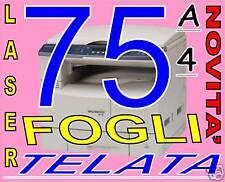 MOVITA' Carta 170 gr TELATA TELA  x stampante laser A4
