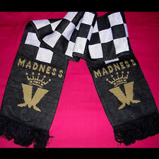 MADNESS - OFFICIAL SCARF FROM 2010 TOUR - BRAND NEW - SUGGS SKA TWO 2 TONE STIFF