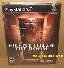 Silent Hill 4: The Room (Sony PlayStation 2, 2004) PS2 Black Label New Sealed