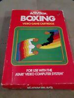 Boxing by ACTIVISION for Atari 2600 CIB▪︎▪︎▪︎ ▪︎FREE SHIPPING ▪︎▪︎▪︎▪︎▪︎