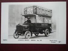 POSTCARD RP LONDON PIRATES BUS - BRITISH NO 332