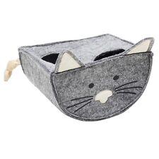 Tiger Cat Wippe Winni 16,5 x 13 x 13cm Ball Leoprint Katzenspielzeug Grau Filz
