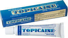TOPICAINE 4% LIDOCAINE GEL (30 GRAMS) ANESTHETIC SKIN NUMBING CREAM