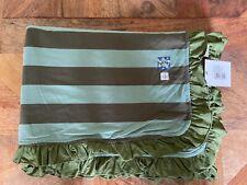 New listing New Kickee Pants Ruffle Toddler Blanket in Fauna Stripe (2019)