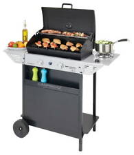 Barbecue a pietra lavica con ripiani e fornello laterale Xpert 200 LS Plus Rocky