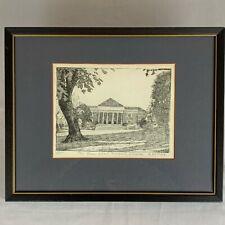 Law School, University of Virginia Print  - Barbara Gettier