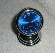 Vtg STYLE CHEVY FORD VW SPLIT WINDOW Truck Car BLUE FACE DASH MAGNET CLOCK  60s