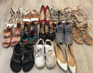 Dolce Vita New Balance Clarks Bare Traps Adidas Teva Lot / 13 Sandals Shoes Heel