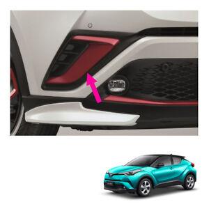 Front Bumper Garnish Cover Red Trim Genuine Fits Toyota C-HR Suv 2018 - 2019