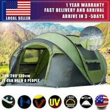 US 2-6 Person Hydraulic Camping Automatic Pop Up Tent Waterproof Outdoor Hiking