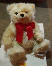 Steiff  Plush Jointed Teddy Bear Frantz  #669354  signed by Dick Frantz  2006