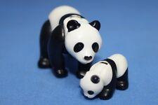 Playmobil mère et bébé Panda Géant - Zoo Safari Animaux De La Faune NOUVEAU