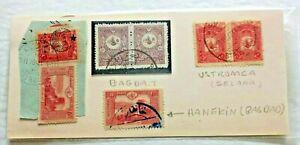 1916 Ottoman Turkey  Middle East ,Balkan Cancels Ustrumca,Bagdad,Hanekin Rare.