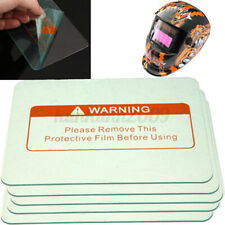 5 Pack 45x 35 Welding Helmet Clear Lens Cover Replacement Protective Plate