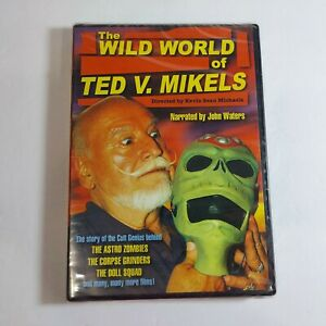 New Sealed The Wild Word of Ted V. Mikels Dvd Cult Genius Alpha New Cinema