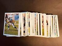 1997 Topps Gallery MISSING FOIL WHITE BORDER NFL PROOF You Pick Your Card