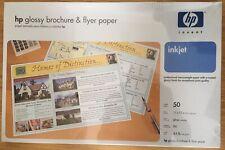 HP BROCHURE & FLYER PAPER GLOSS INKJET 44 LB 11 X 17 - 50 SHEETS