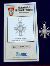 Göde Abzeichen Sachsen --Albrechtskreuz--
