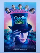 Charlie and the Chocolate Factory 11x17 Theatrical Release Movie Poster (2005)