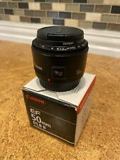 Canon EF 50mm F/1.8 II Lens (Excellent)