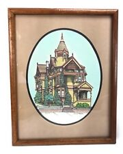 D W  Patrick Signed Print San Francisco Victorian Haas - Lillienthal House 1976