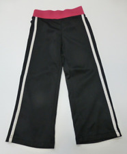 Danskin Athletic Pants Girls Size XS (4-5) Pink & Black Great Condition