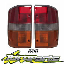 TAILLIGHTS PAIR SUIT GQ PATROL NISSAN 87-94 S1 TAILLAMPS TAIL LIGHTS LAMPS