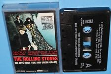 THE ROLLING STONES ~ BIG HITS (HIGH TIDE AND GREEN GRASS) ~ CASSETTE TAPE