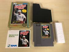 Lee Trevino's Fighting Golf Complete Nintendo NES Original CIB Game