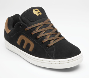 Mens Etnies Callicut Calli-cut Skateboarding Shoes NIB Black Brown
