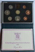 1983 Royal Mint  Proof Coin Collection Set United Kingdom (the box is dirty)