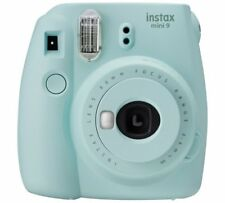 Instax Mini 9 Camera With 10 Shots Selfie Producing Instant Ice Blue