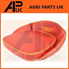 Porsche 108 217 218 238 308 Diesel Tractor Seat Pan Cushion Red & Yellow Trim