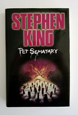 Pet Sematary by Stephen King - Vintage Hardcover with Dust jacket 1993