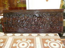 Wood Carving- Sepik PNG 1500 x 600 x 30 mm Kwila Timber
