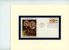 The Metropolitan Opera & First Day Cover of its own 100th Anniversary stamp