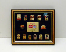 Coca Cola Pins  Limited set 1992-Olympic