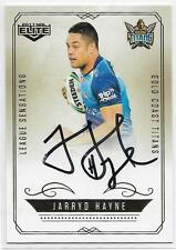2017 NRL Elite League Sensations Signature (LS 5) Jarryd HAYNE Titans 119/130
