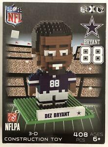 """NFL DALLAS COWBOYS """"DEZ BRYANT #88"""" 3-D CONSTRUCTION TOY, 408 PCS, AGE 6+ *NEW*"""