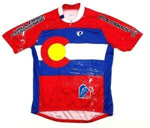Pearl Izumi Select Colorado State Flag Cycling Jersey XL USA Pro Challenge 2013