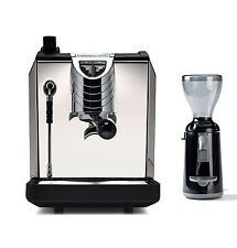 Nuova Simonelli OSCAR 2 Espresso Coffee Machine & Grinta Grinder Set 110V Black