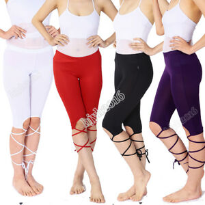 Women Belly Dance Pants Dancewear Training Practice Trousers Elastic Milk Fiber
