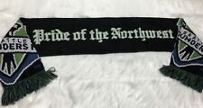 """Emerald City Supporters """"Seattle Till I Die"""" Seattle Sounders FC Scarf"""