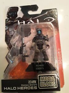 UNOPENED Mega Bloks Spartan Romeo ODST Halo Heroes Series 2 Construx NEW