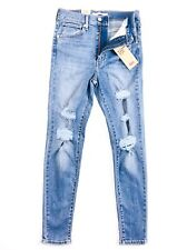 Levis® Mile High Ankle Jeans Super Skinny Ripped Night To Remember 523480007