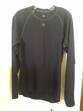 New Women's Pearl Izumi Transfer Base Layer Long Sleeve Size Large Black