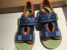 Child's kickers leather Lego sandals very little used bright clean pair size 11