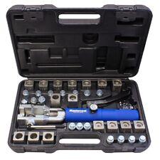 Mastercool 72485-PRC Hydraulic Fuel Brake Coolant Line Flaring Tool Kit W Dies